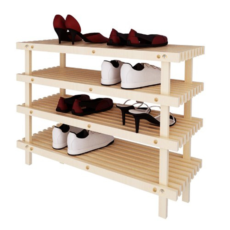 wooden shoes rackMST