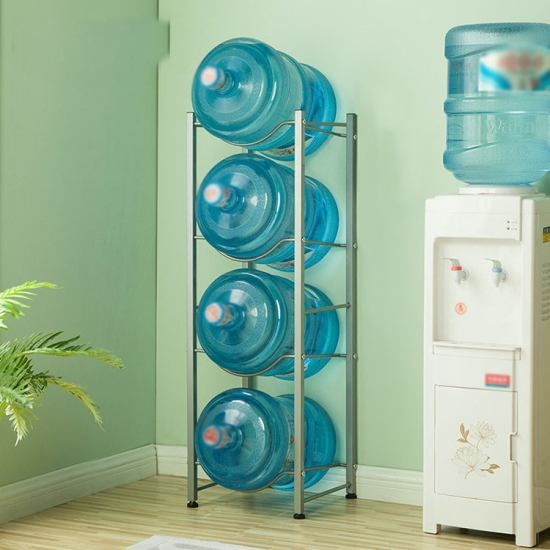 Customization water bottle rack 4 layers