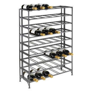 Iron Folding Wine Rack