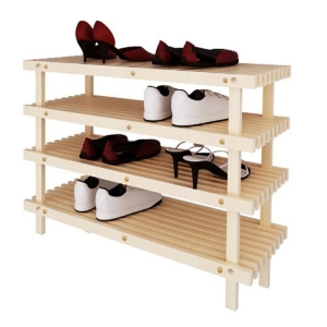Wooden shoes rack MST
