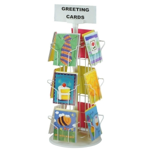 Greeting card display rackMST